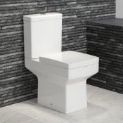 NEW & BOXED Belfort Close Coupled Toilet & Cistern inc Soft Close Seat. RRP £499.99. CC645. Lo...