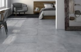 NEW 7.1 Square Meters of Nantes Marengo Wall and Floor Tiles. 450x450mm per tile, 8mm thick. ...