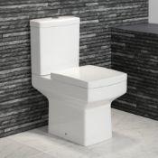 NEW & BOXED Belfort Close Coupled Toilet & Cistern inc Soft Close Seat. RRP £499.99.CC645.Lon...