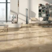 NEW 8.76 Square Meters of Imola Beige Wall and Floor Tiles. 605x605mm per tile, 10mm thick. T...