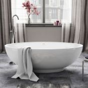 1685x800mm Alexandra Freestanding Bath.Manufactured from High Quality Acrylic complimented by ...