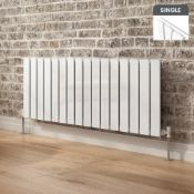 NEW 450x1216mm Gloss White Single Flat Panel Horizontal Radiator. RC498.£349.98 Our entire ra...