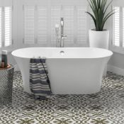NEW & BOXED 1600x750mm Ella Freestanding Bath. Manufactured from High Quality Acrylic, complim...