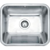 NEW (F10) Franke Utility 50 UTX 610 Stainless Steel. Cabinet Size 600.00 mm Length Overall 5...