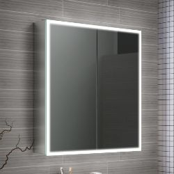 NEW 650x700 Cosmica Illuminated LED Mirror Cabinet. RRP £824.99.MC162.We love this mirror cabi...