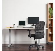 (AP256) XL Glass Monitor Stand This extra-large monitor riser offers plenty of space to suppor...