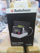 10 X New & Boxed Audio Sonic 4,5A High Power - Power Station. Smart Compatibility - Auto Adapts...