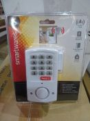 12 X New & Packaged Smartwares Door/Window Alarm. Rrp £19.99 Each
