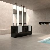 NEW 8.64m2 Veinstone Lapatto Brown Polished Wall and Floor Tiles. 300x600mm, 1.08m2 per pack. ...