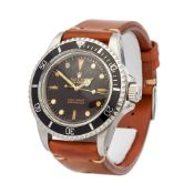 Rolex Submariner No Date 5513 Men Stainless Steel Tropical Dial - Accredited Service Watch