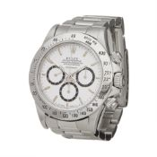 Rolex Daytona 16520 Men Stainless Steel Inverted 6 4 Lines 225 Bezel floating Cosmograph L Serial