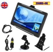 sat nav multimedia system for cars, trucks, motorhomes, bikes or walking.