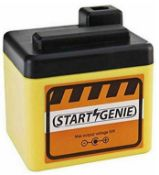 3 x start genie 12v power packs car engine starter jump start battery