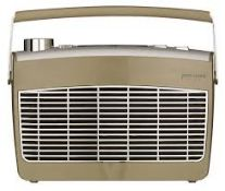 John Lewis & Partners Aston MK2 DAB/FM Radio, Coffee