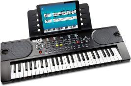 RockJam RJ549 49 Key Keyboard Piano with Sheet Music Stand Piano RRP £49.99