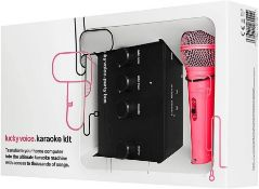 Lucky Voice Karaoke Machine - Home Singing Machine with Microphone RRP £55