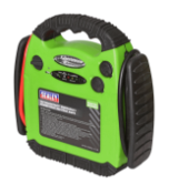 Sealey RS1312HV RoadStart Emergency Power Pack 12V 900 Peak Amps Hi-Vis, Green/Black RRP £120