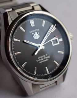 TAG Heuer Carrera Twin-Time 41mm Full Set