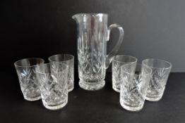 Royal Brierley Crystal Drinks Set