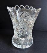 Vintage Bohemian Crystal Vase