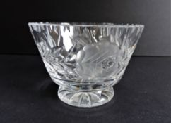 Bohemian Crystal Bowl
