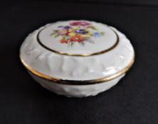 Dresden Porcelain Trinket Dish