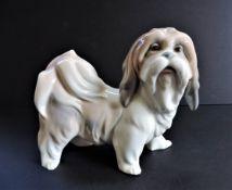 Lladró Porcelain Dog - Shih Tzu Standing