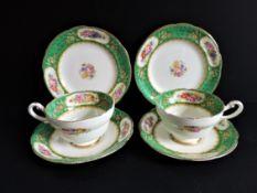 Vintage Paragon Porcelain Tea for Two Set