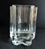 Glass Vase in the Art Nouveau Style