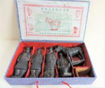 Boxed Set Terracotta Warriors Qin Dynasty