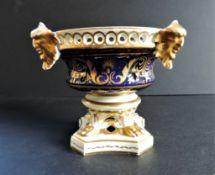 Antique Royal Crown Derby Pot Pourri Urn circa 1820's