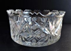 Antique Victorian Crystal Bowl