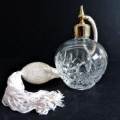 Cut Glass Perfume Atomiser