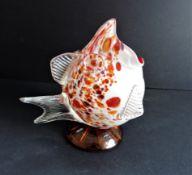 Vintage Art Glass Fish