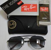 Ray Ban Sunglasses ORB3648 002/71 *3N