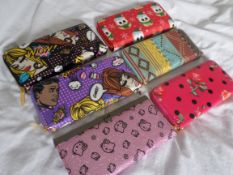 5 x Ladies Clutch/Purses RRP £14 Each. Brand New