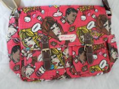 2 x HT London Large Pop Art Design Satchels. RRP £29.99 Each. Brand New