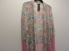 Ladies Urban Mist Kimono/Kaftan Beach Cover Up. RRP £14.99. Brand New