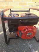 2.5kva Honda generator working order