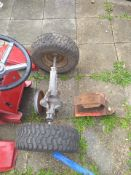 Ride-on mower little tractor parts