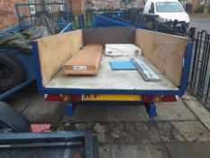 4ft by 6ft suspension trailer