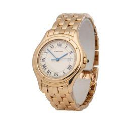 Cartier Panthère Cougar 116000R Unisex Yellow Gold Watch