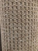 Island Weave I Slay Wheat 6M X 4M (19Ft 6In X 13Ft ) Polypropylene Loopcontract Hessian Back