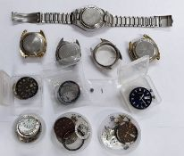 Workshop Clearout Seiko Of Bell-Matic Movements
