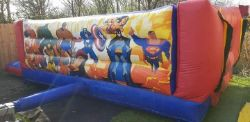 25ft plus inflatable obstacle course