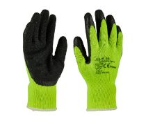 3 pairs high visibility gloves