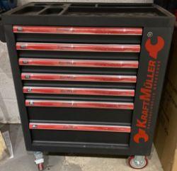 kraft muller german 449pcs tool set & trolley