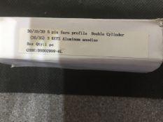 10 x euro profile cylinder