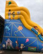 big mega slide coaster slide 25ft height