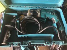 makita industrial 110v heavy duty drill & case